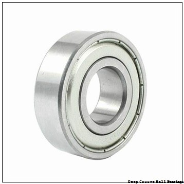 17 mm x 23 mm x 4 mm  ZEN 61703-2RS deep groove ball bearings
