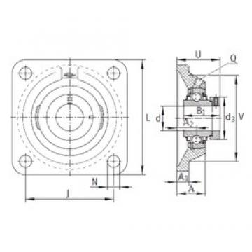 INA RCJ30-N bearing units
