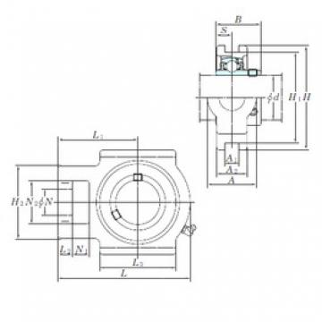 KOYO UCT211-32E bearing units
