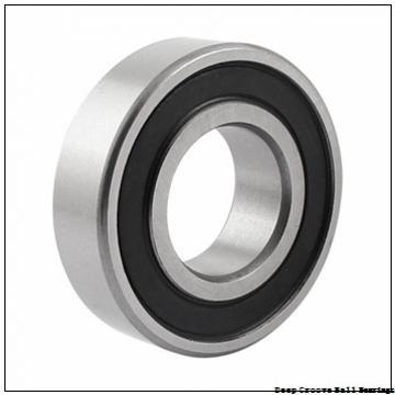 380 mm x 560 mm x 82 mm  KOYO 6076 deep groove ball bearings