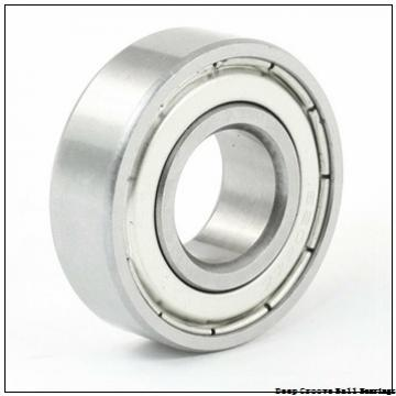 7 mm x 17 mm x 5 mm  ISO 619/7 deep groove ball bearings