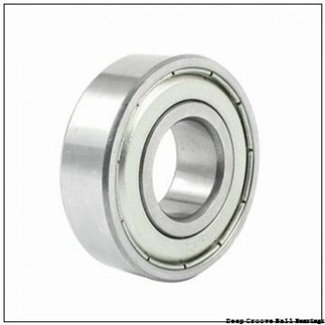 55 mm x 100 mm x 21 mm  ISB 6211-Z deep groove ball bearings