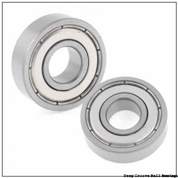 7 mm x 17 mm x 5 mm  ZEN 697 deep groove ball bearings