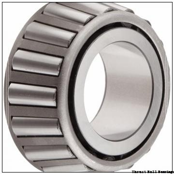 380 mm x 460 mm x 20 mm  SKF 81176M thrust roller bearings