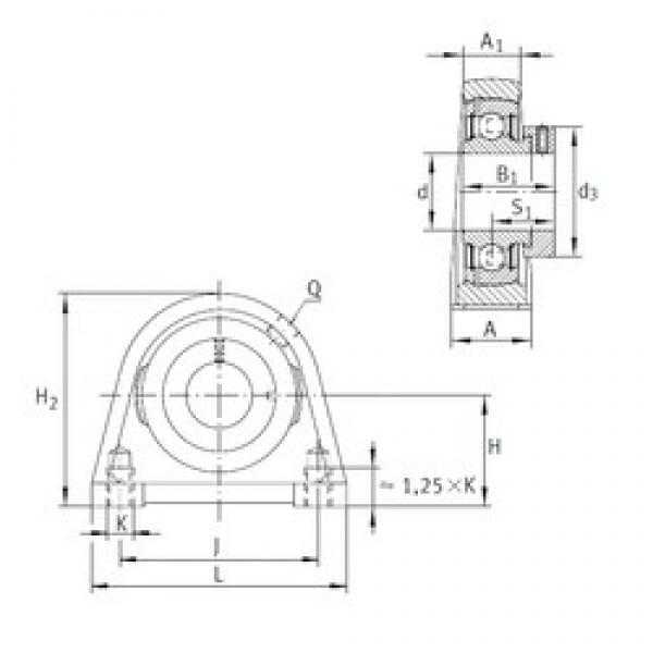 INA PSHE17 bearing units #3 image