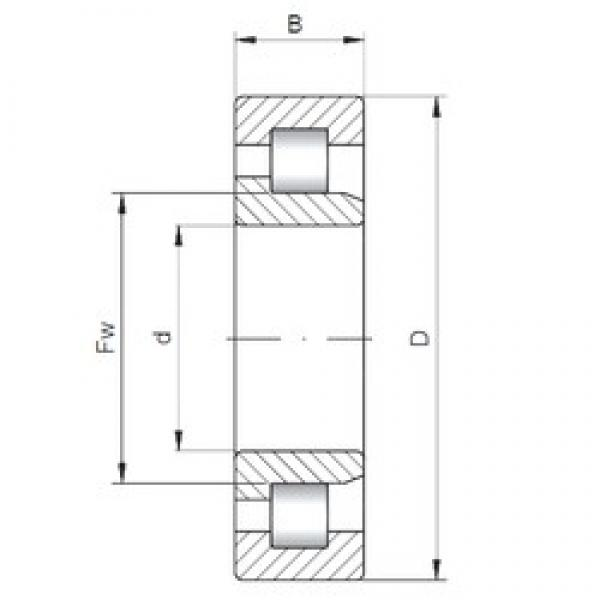 30 mm x 62 mm x 20 mm  ISO NJ2206 cylindrical roller bearings #3 image