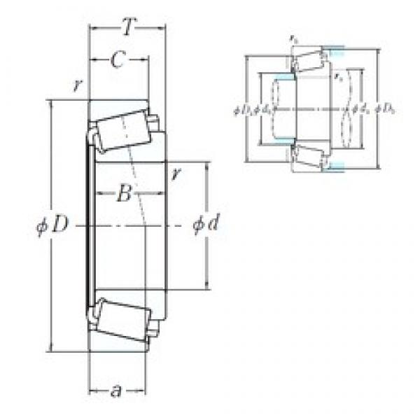149,225 mm x 241,3 mm x 56,642 mm  NSK HM231149/HM231115 cylindrical roller bearings #3 image